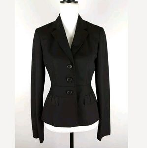 Loft Three Button Front Tailored Blazer